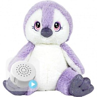 purple penguin voice teddy