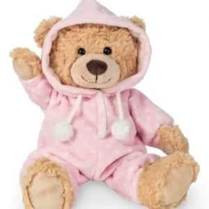 pink pyjama teddy