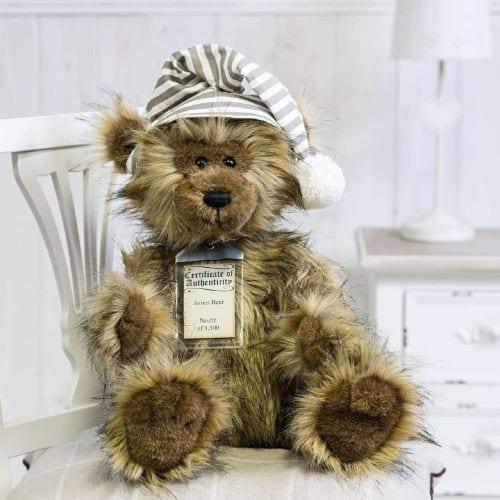 silver tag bear james