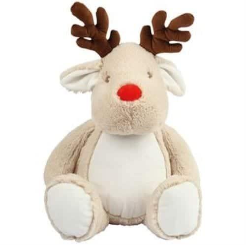 reindeer teddy personalised
