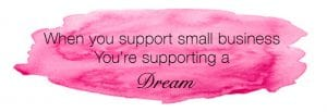support a small business