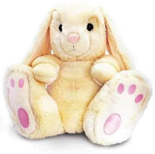 cream patchfoot bunny