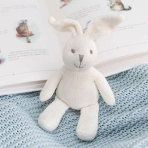 knitted bunny lifestyle photo
