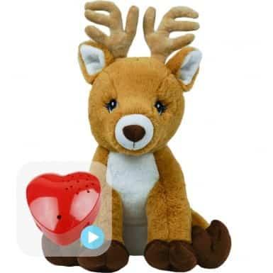 voice message reindeer