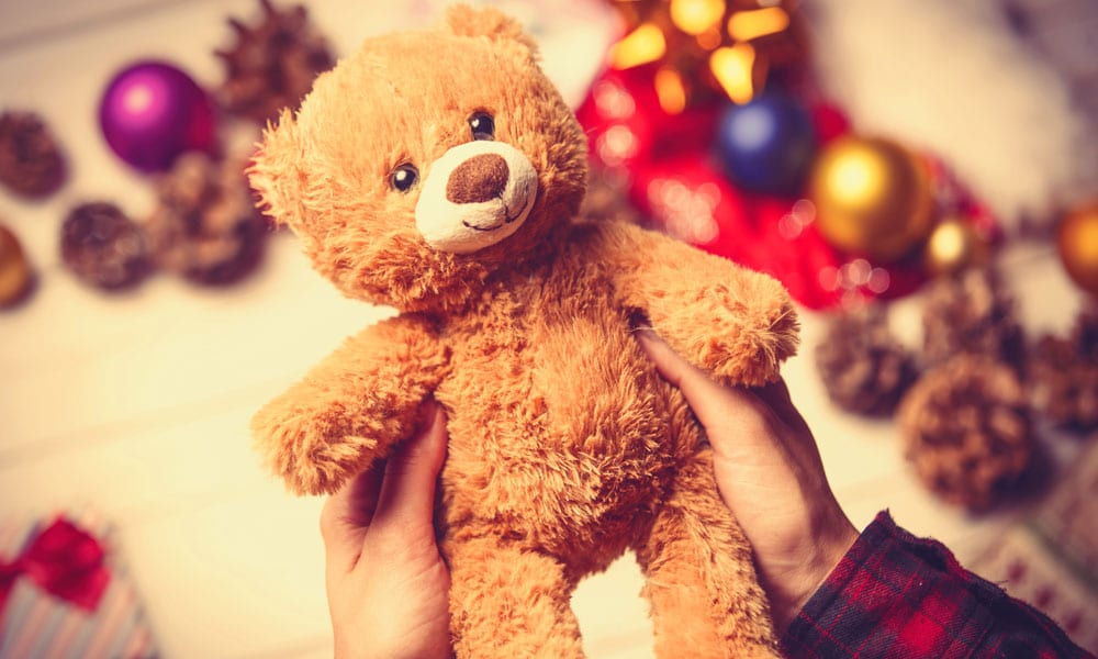 Personalised Teddy Bear Why Teddy Bears are Still a Favourite Toy at Christmas Blog Image