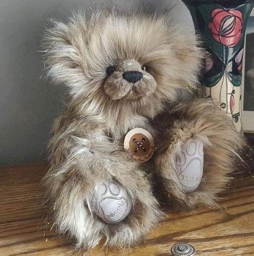 Sparkle collectors teddy bear