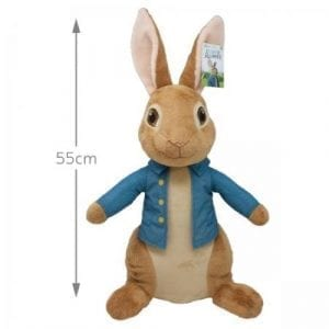 Giant Peter Rabbit Soft Toy Teddy Bear Measurements Image