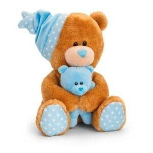 musical blue teddy