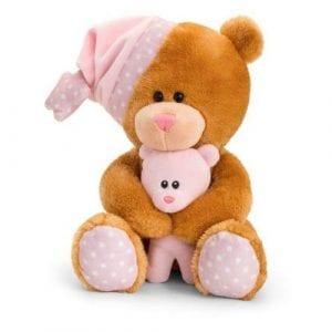 musical pink teddy