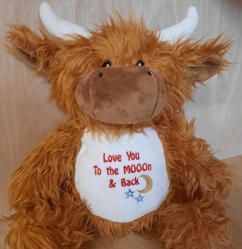 highland cow soft toy
