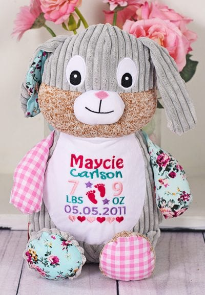 cubbie bunny teddy bear