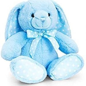 blue bunny soft toy
