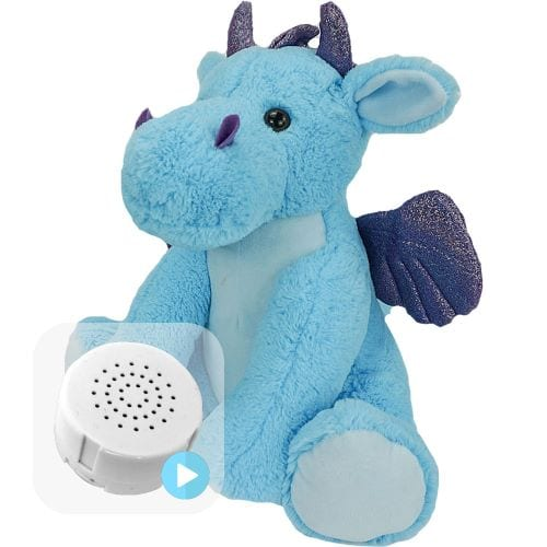 blue dragon voice message teddy