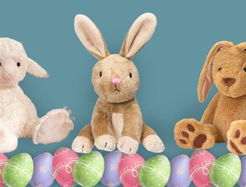 Easter teddies