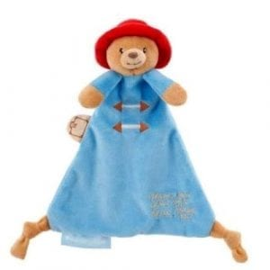 paddington bear comfort blanket