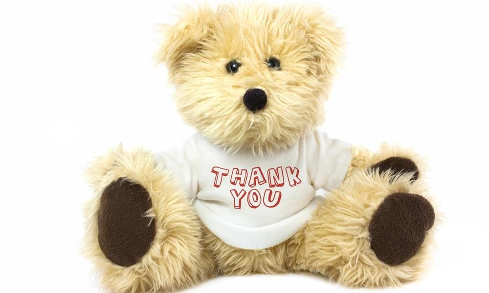 Personalised Bear 10 Reasons to Send a Personalised Teddy Bear Blog Image