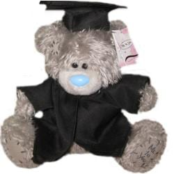 personalised me to you graduation bear