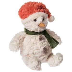 snowcap snowman personalised teddy