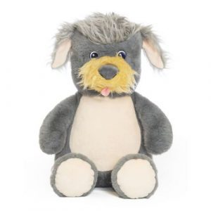 personalised terrier soft toy dog